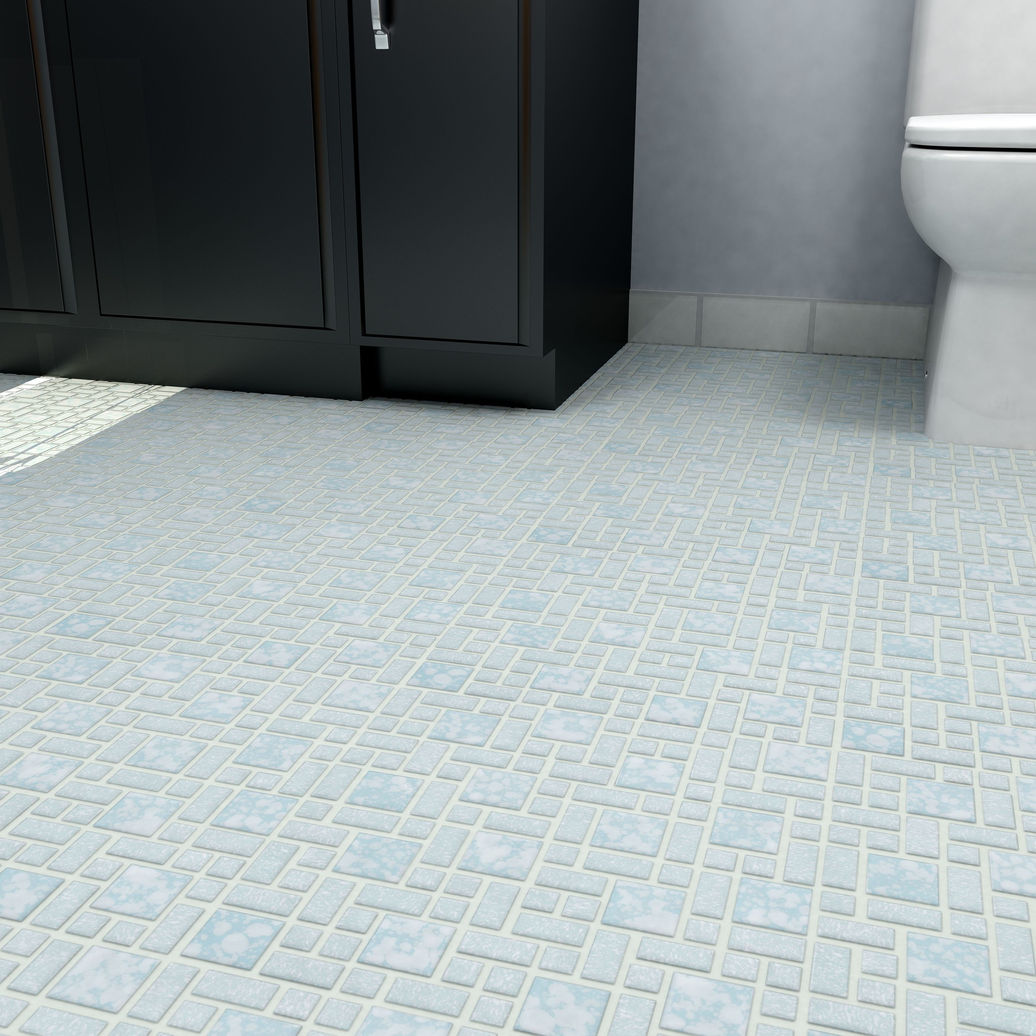 Overstock this tile is reminiscent of traditional multi texture the somertile x academy blue porcelain floor and wall tile is reminiscent of traditional multi texture and multi color porcelain mosaic floor tile dailygadgetfo Images