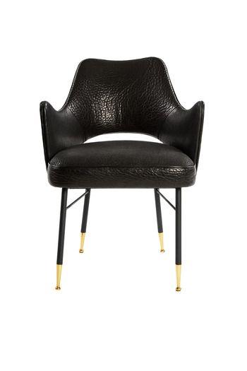 Black Chair With Gold Legs Blackchair Furniture Design