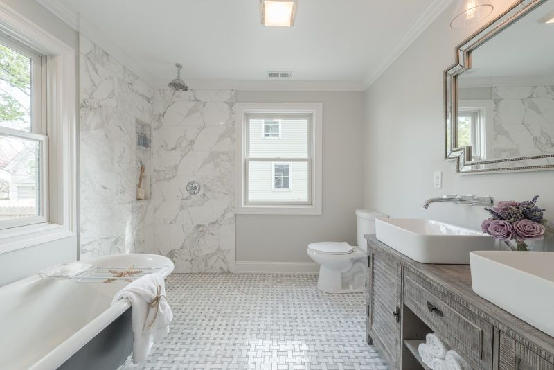 It Was The Worst House On The Block A Small Cape Gets A New Look - Bathroom remodel fairfield ca