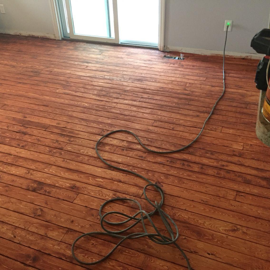 Pine Furring Strip Floors Updating House Diy Flooring Strip Floors