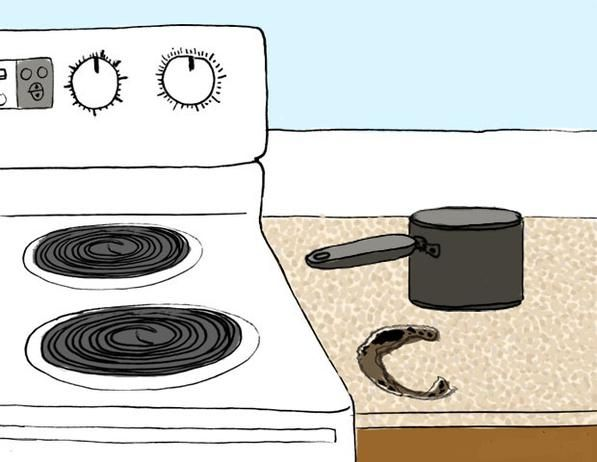 How To Repair Common Kitchen Mishaps And Accidents Countertop
