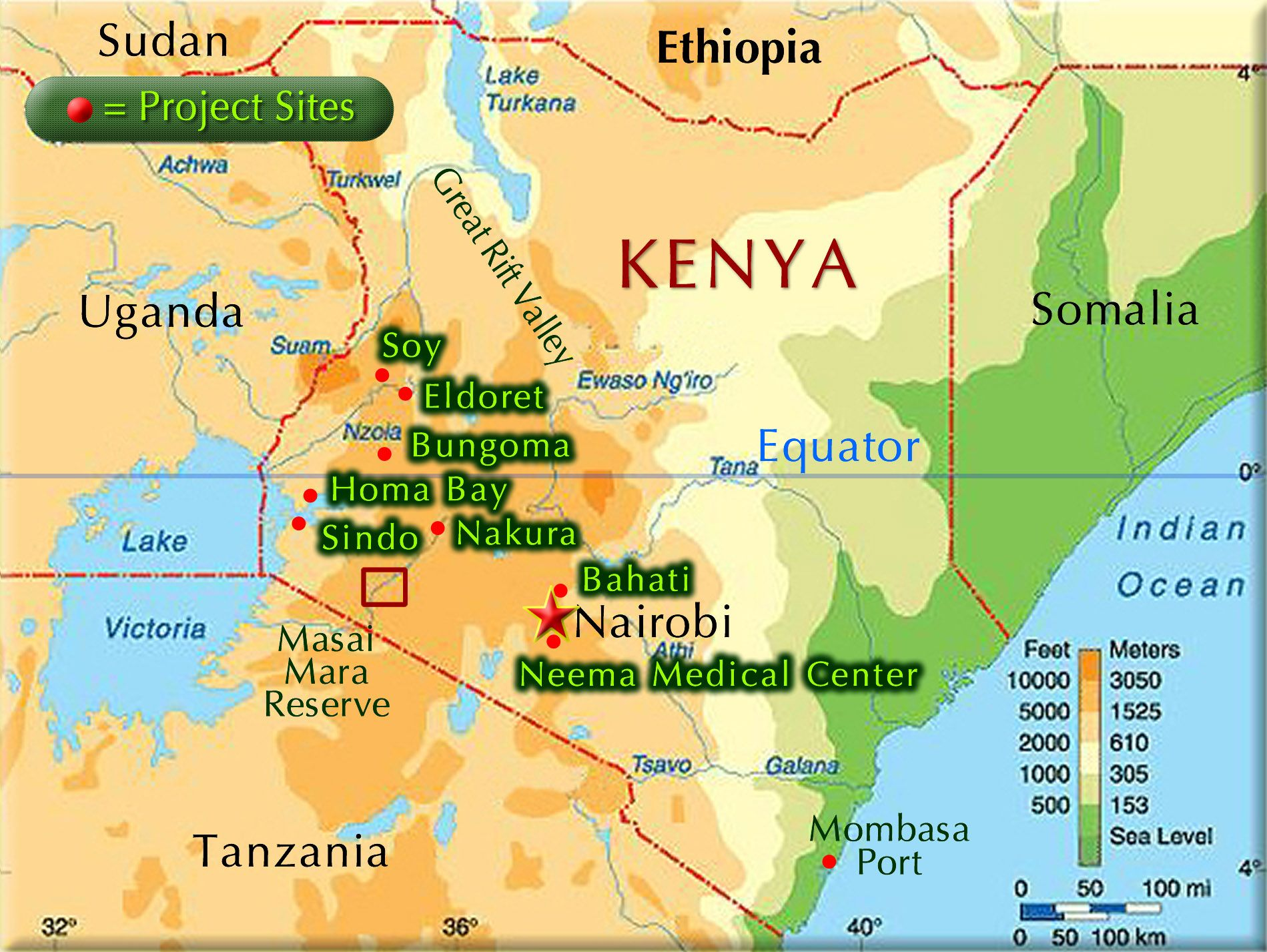 Road Map to Kenya Maps Pinterest