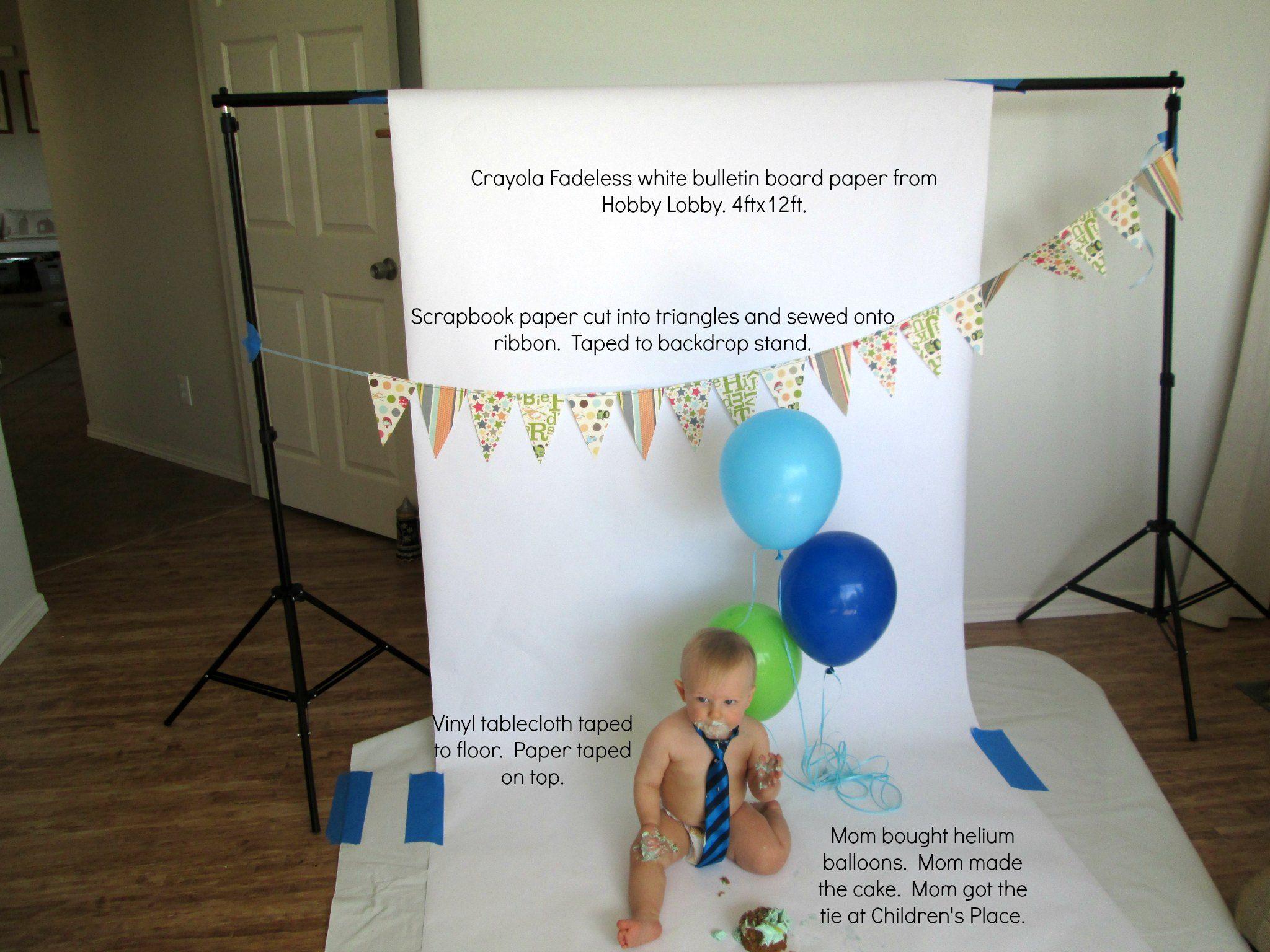 Behind The Scenes Cake Smash Text Diy Smash Cake First Birthday Photos 1st Birthday Photos