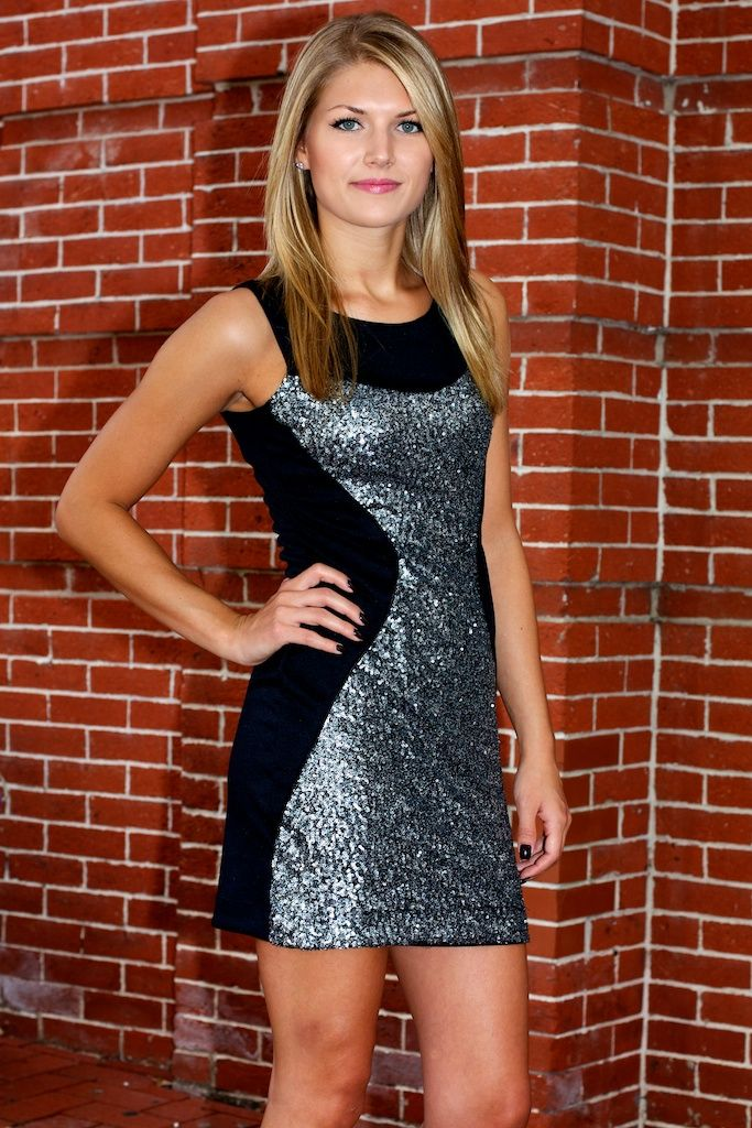 Hourglass Sequin Body-Con Dress #May23Online $48.00