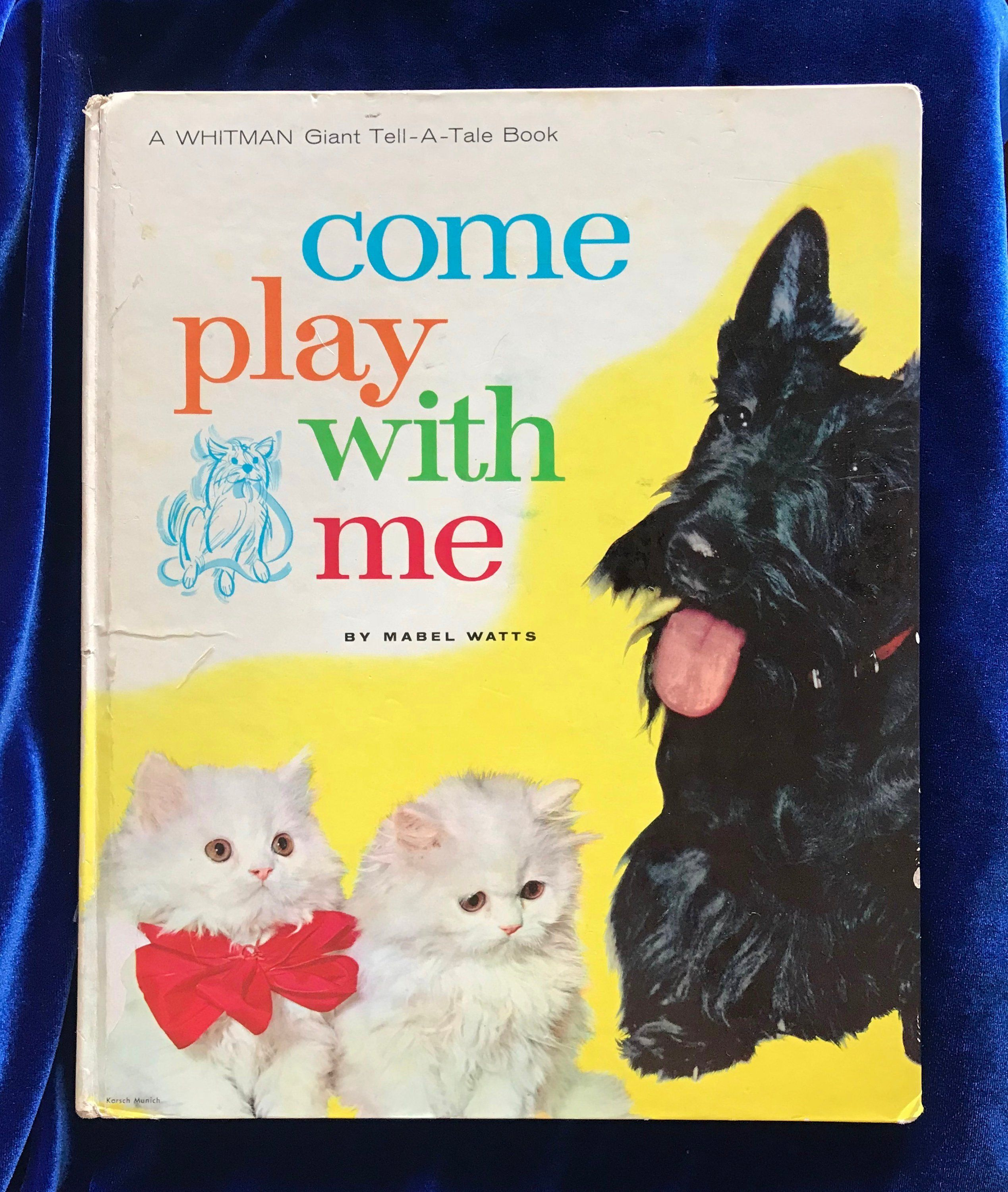 1963 come play with me childrens book whitman scottish