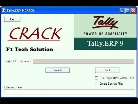tally erp 9 software with crack