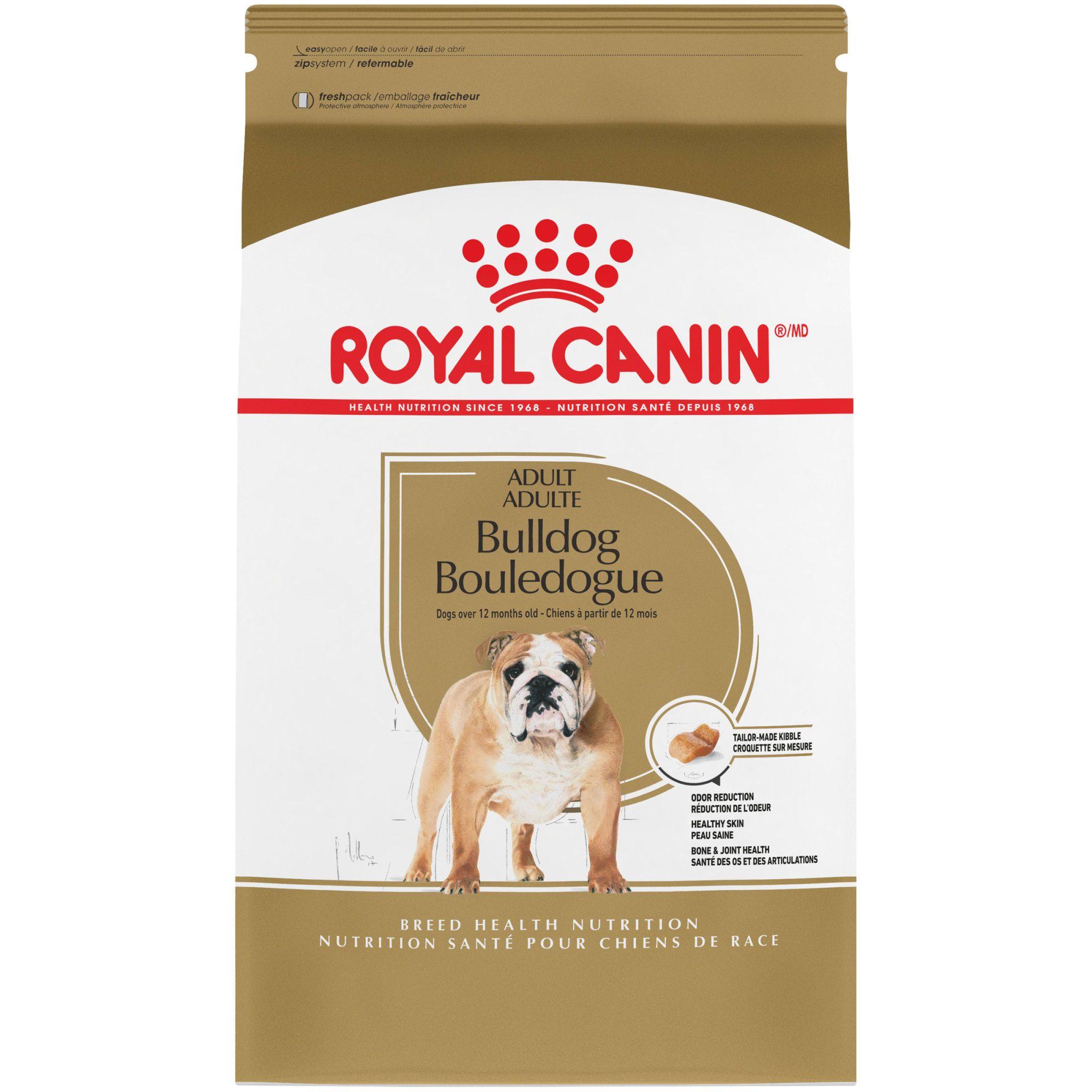 Royal Canin Breed Health Nutrition Bulldog Adult Dry Dog Food 17