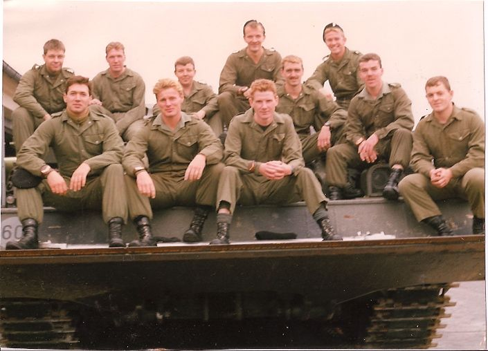 A lifetime ago. We thought we were the very best in the business....D Squadron Fitter Section, The Queen's Own Hussars. 1991