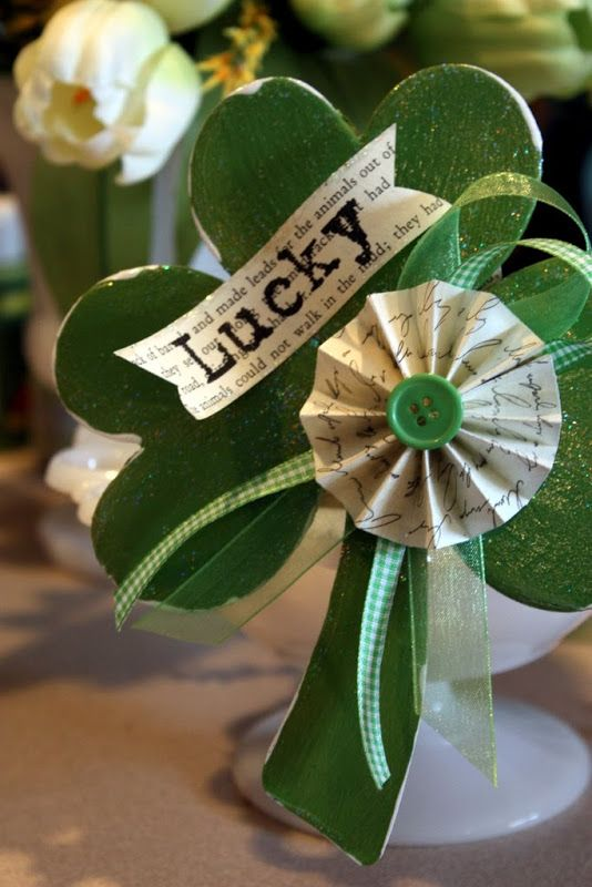 Sweet Something Designs: Boxwood Wreath: St. Patty's Day
