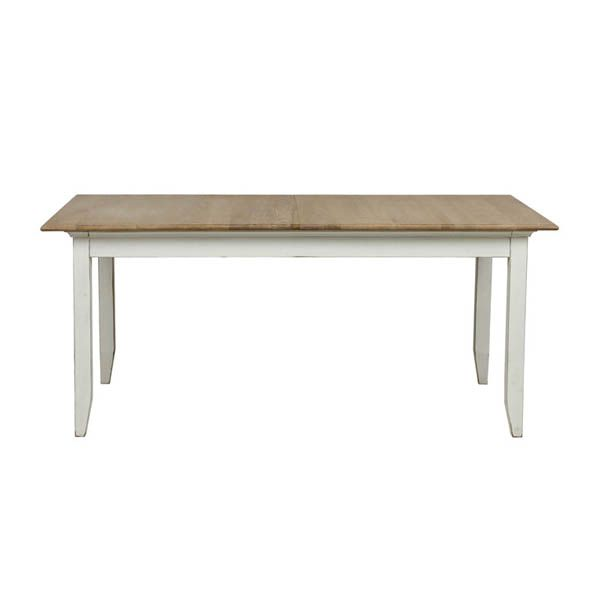Hamptons white extendable dining tables Extendable dining table