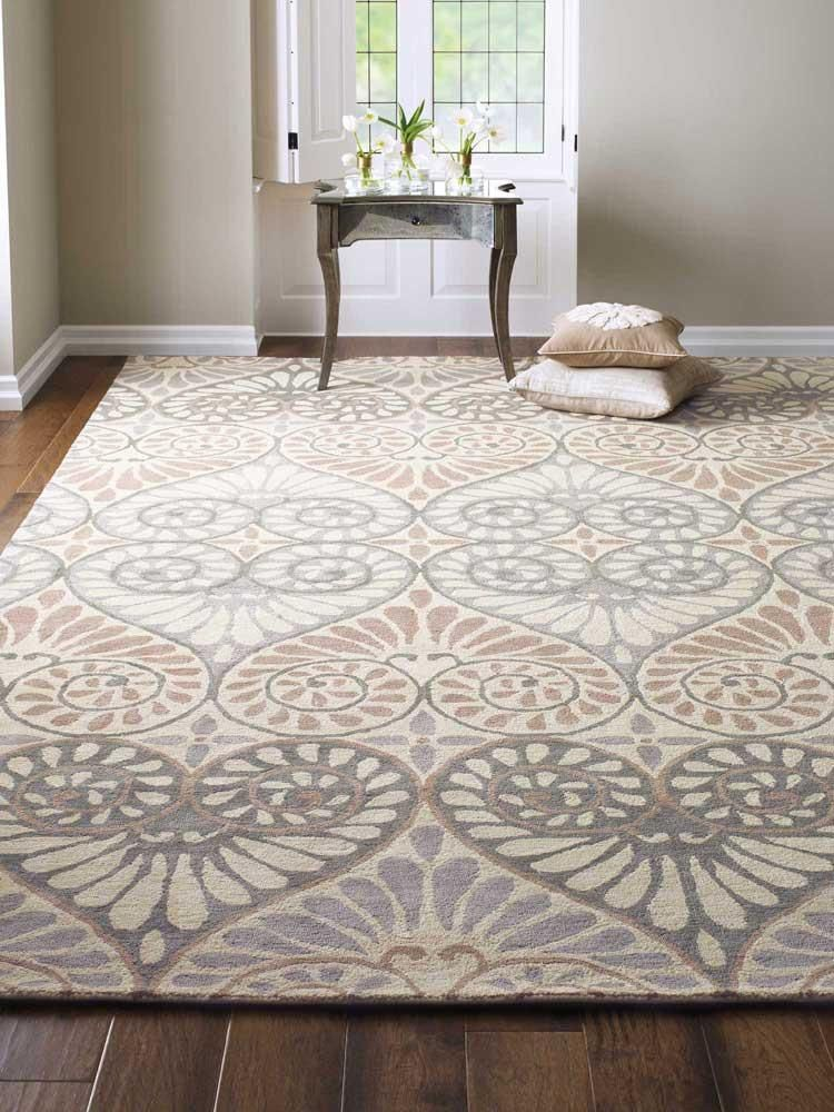 Hand Tufted Of Jute Our Dewdrop Rug Features A Traditional Indian Paisley In Soft Neutrals Artfully Placed To Create A Flowing Rugs Bedroom Carpet Diy Carpet