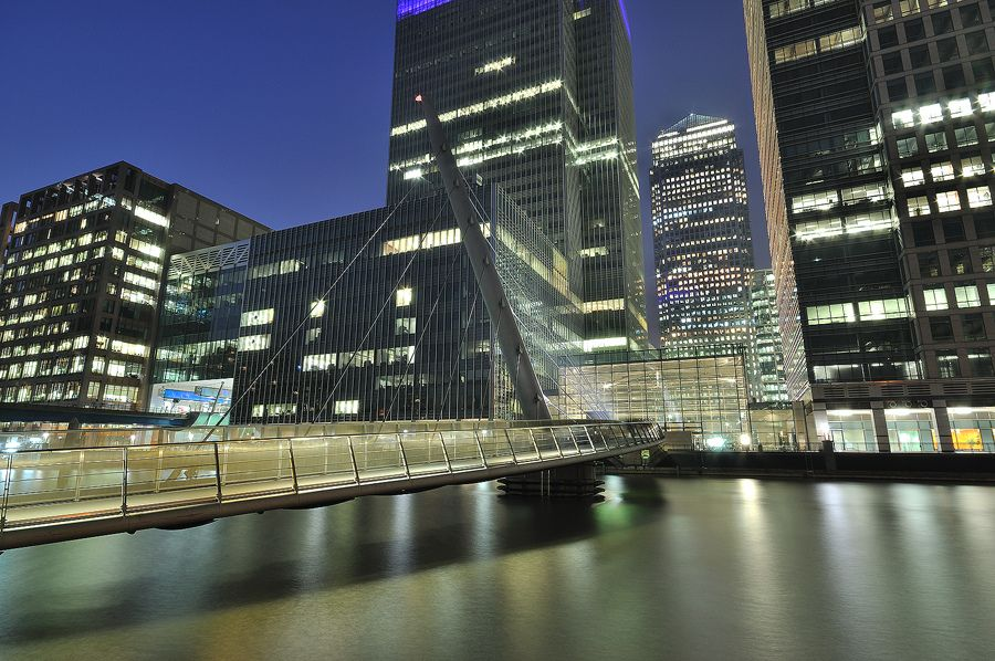 Canary Wharf in London | Flickr - Photo Sharing!