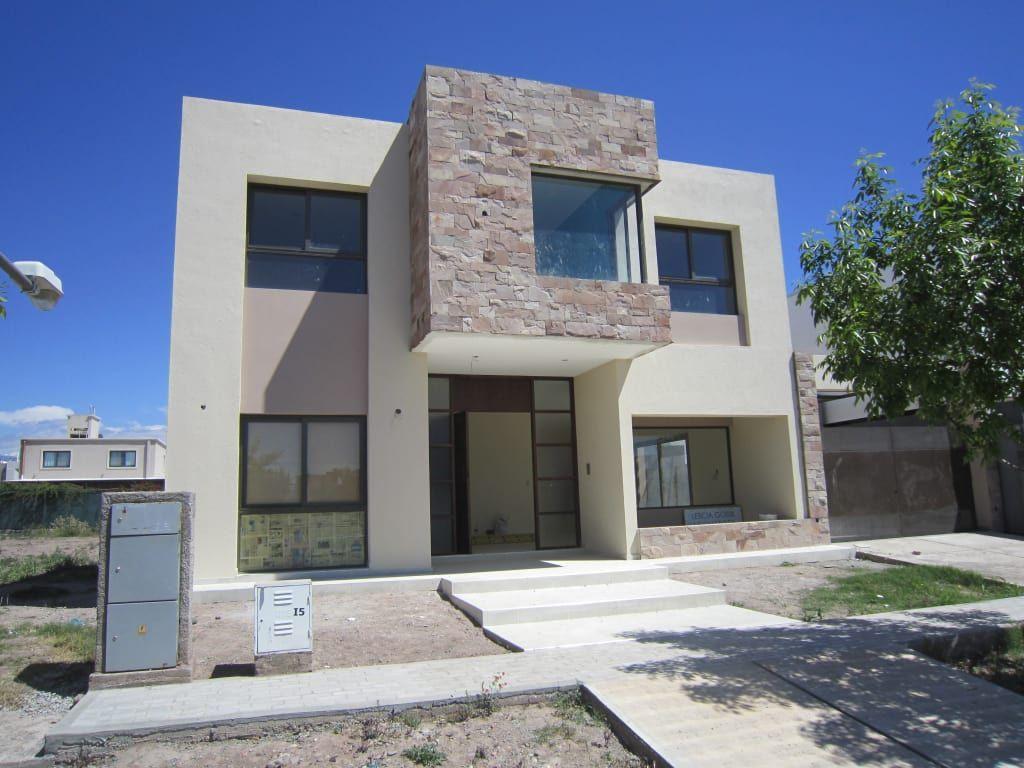 16 casas con fachadas de piedra modernas y preciosas home design pinterest casas - Materiales para fachadas de casas ...