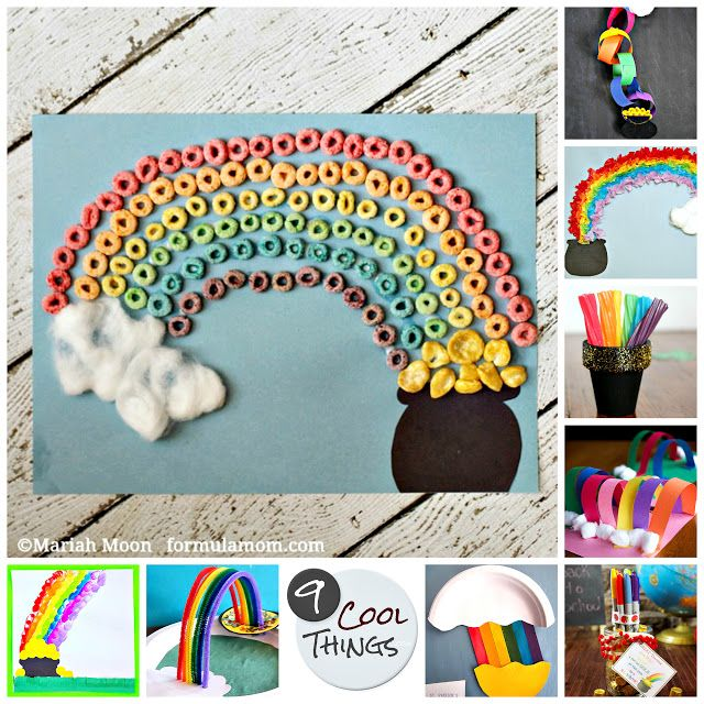 9 cool rainbow pot-o-gold St. Patrick's Day crafts for ...