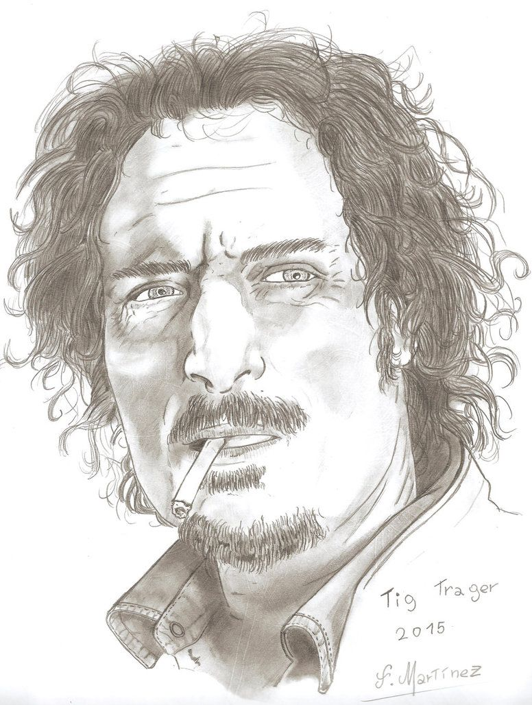 Tig Trager by F-Martinez My favorite character of Sons of anarchy