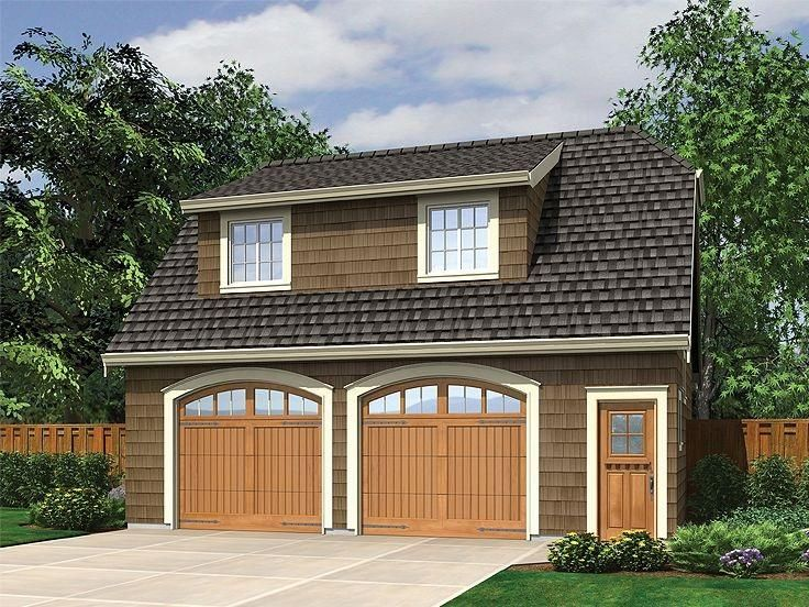 Garage detached garage plans for modern home design for 4 car garage plans with living quarters