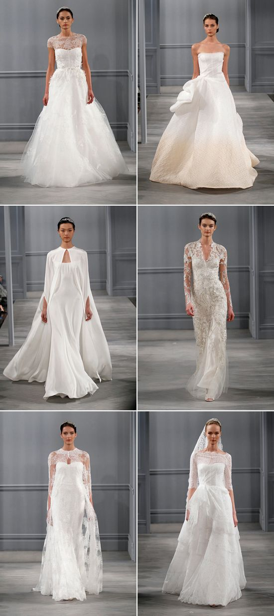 Bridal Market Spring 2014 - Monique LHuillier