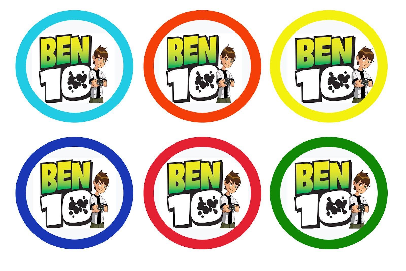 Ben Ten Birthday Cake Toppers