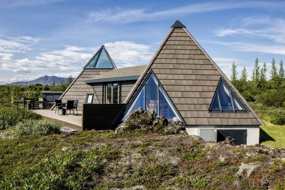 Small Pyramid Cottage in Iceland is Sustainable and Charming ...