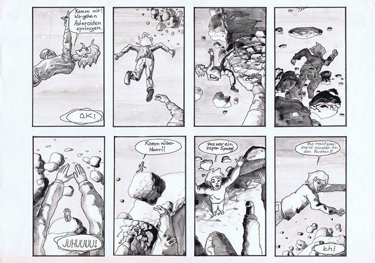 Seite 2 #ProfilComicBodenlos #SciFi #Zeichnung #Zeichner #Zeichnen