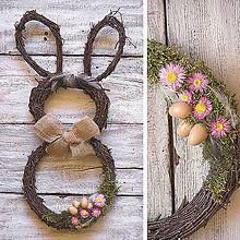 Dekorácie - Veľkonočný zajko - fešák - 6553381_