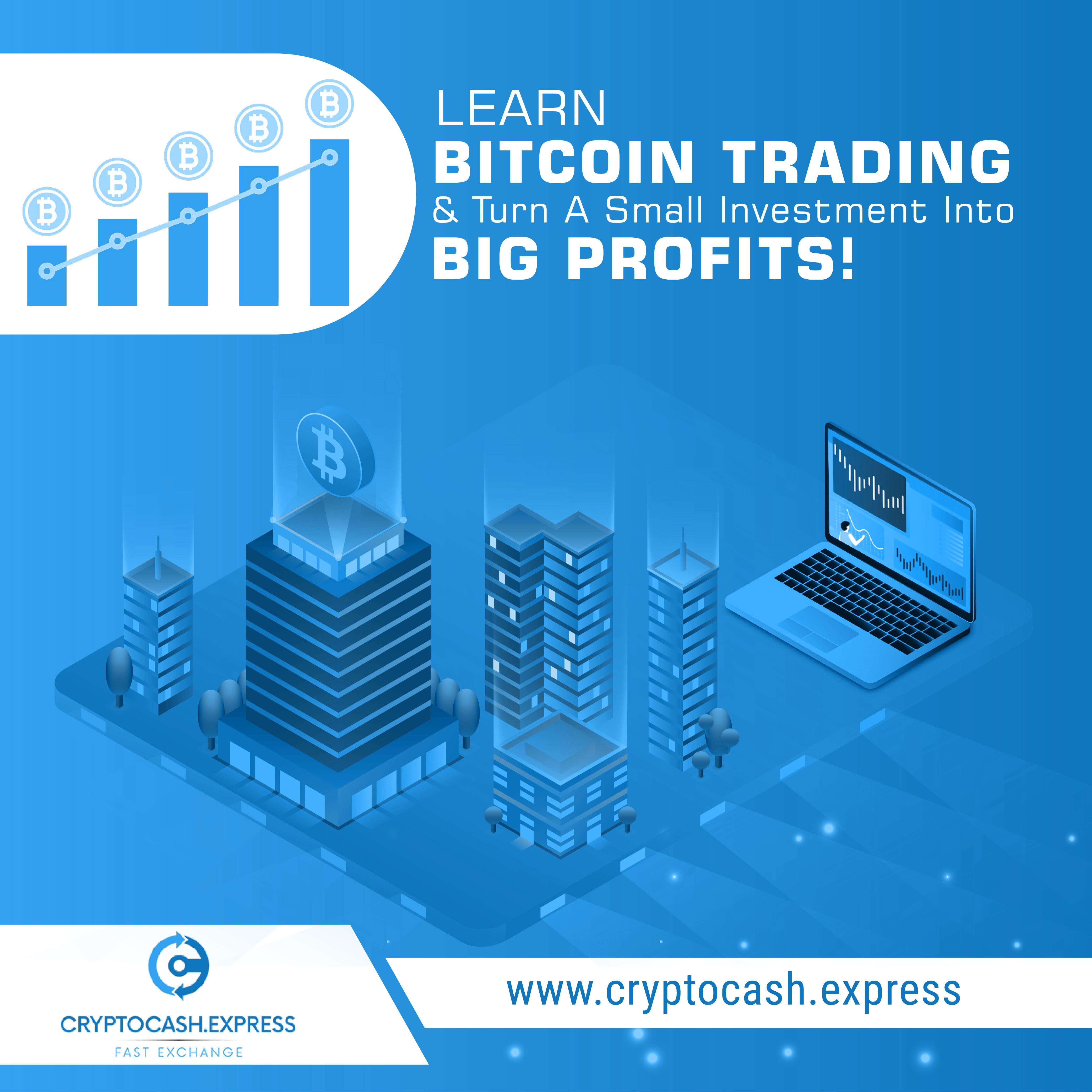 Want to make profits fast? Then Bitcoin trading is for you