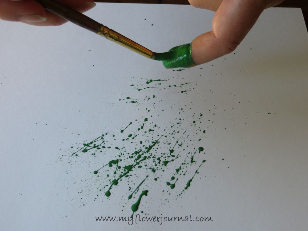 More Splattered Paint Art Ideas And Tips Acrylic Painting Tips