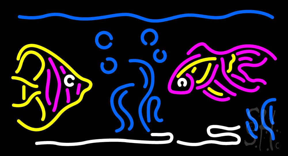 Fish Neon Sign | Neon signs, Neon, Fishing signs - photo#21