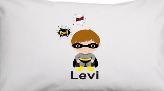 Batman Superhero Boys Or Girls Personalized by kadensdesigns, $18.00