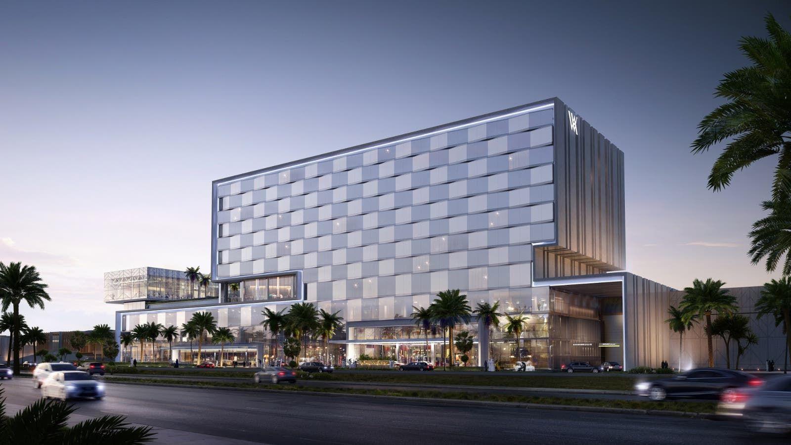 أول فندق من علامة والدورف أستوريا في الكويت يستعد للافتتاح في الخريف In 2021 Skyscraper Structures Building