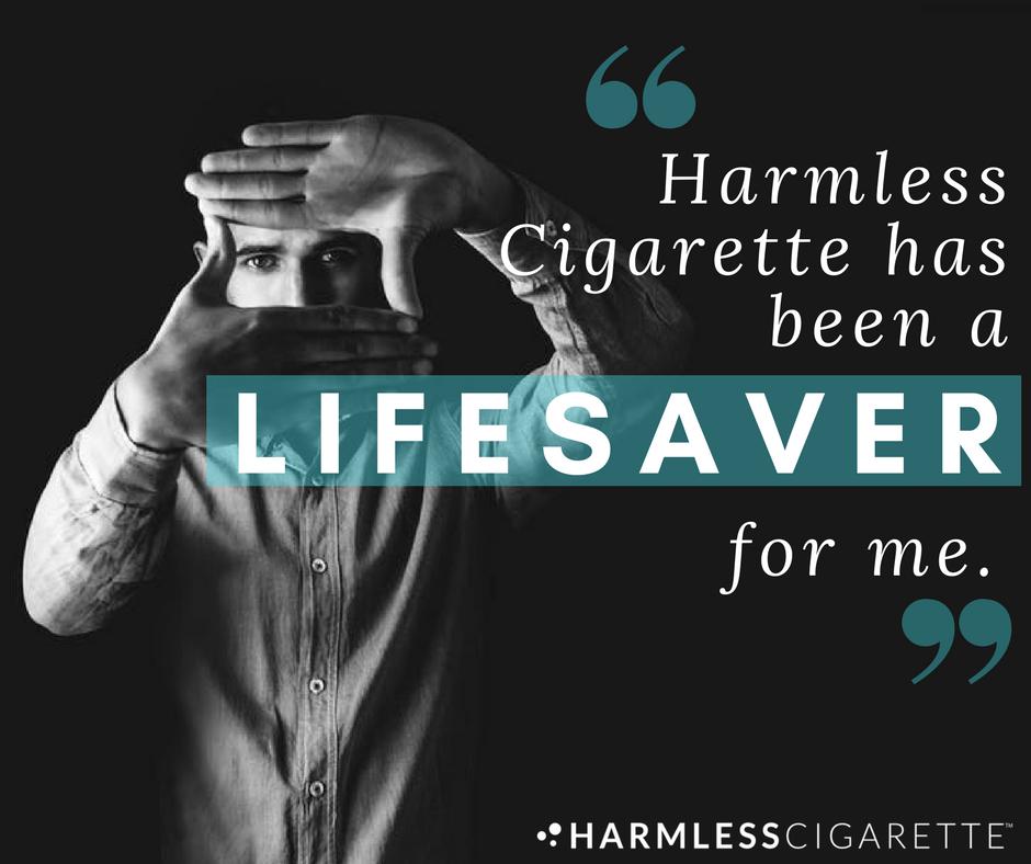#HarmlessCigaretteReview #Smokefree #QuitSmoking
