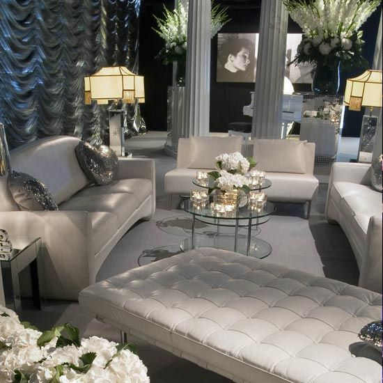 Old Hollywood Themed Living Room: Interior (not The Love Heart Cushions)!