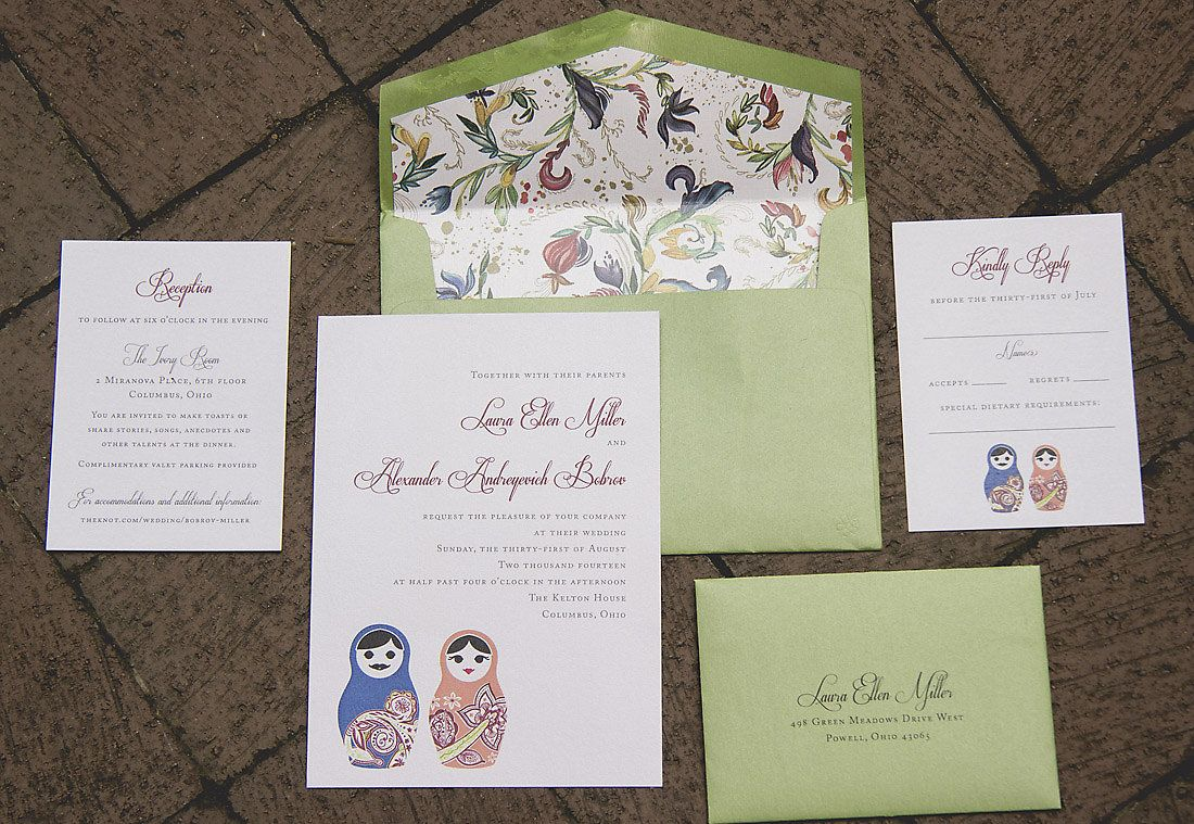 Laura and Alexander Photo by Alanya Parker Photography   Invitation ...