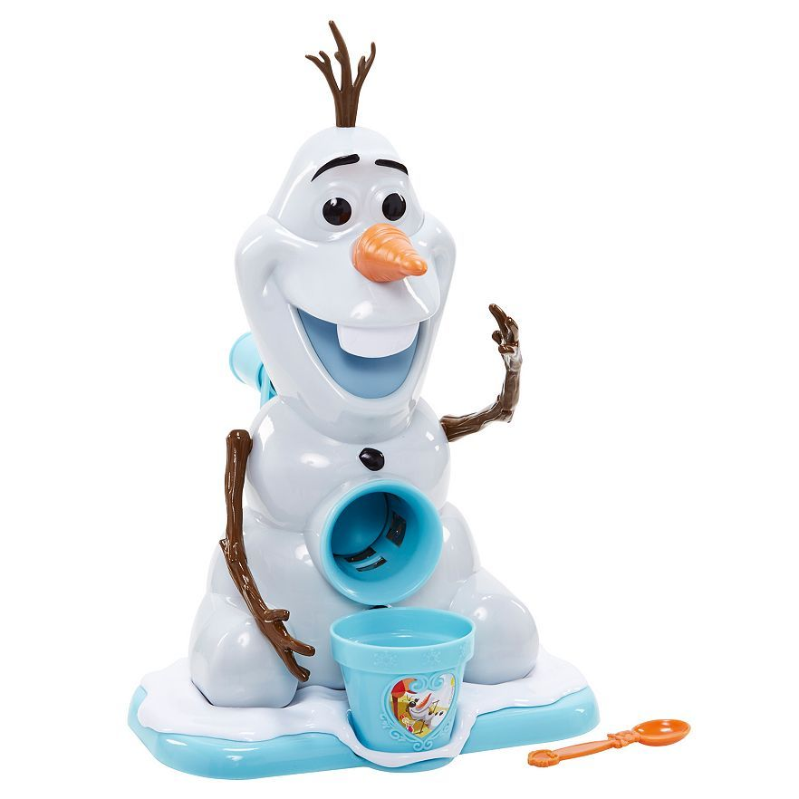 Olaf sno-cone maker! Amazing gift for Frozen-obessed kids.