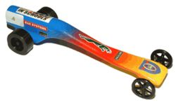 How Co2 Powered Dragsters Work Dragsters Racing Car Design Co2