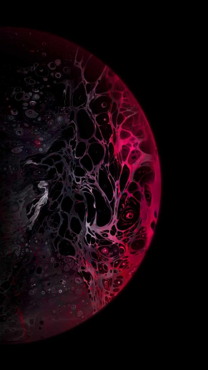 Red Dark Planet - IPhone Wallpapers