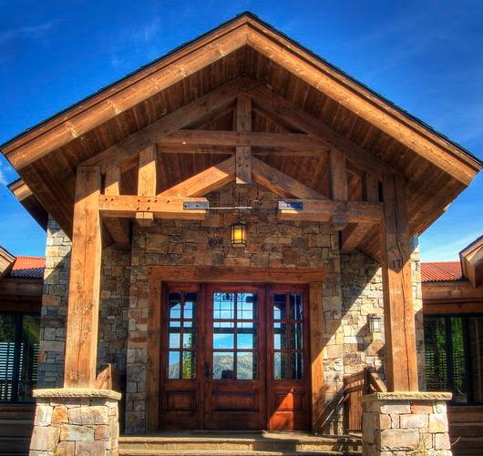 Nice Doorway | бревнодом | Pinterest | Lake cabins, Cabin