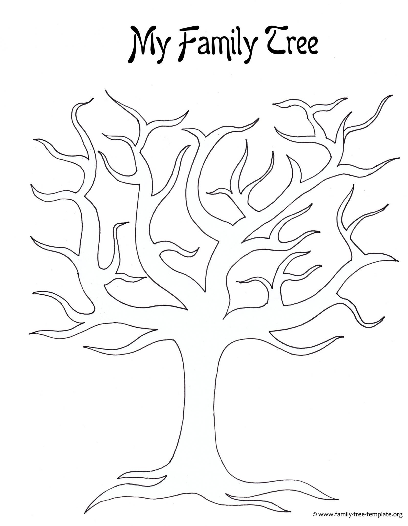 Drawing a family tree template make a family tree easily with with family tree drawing template
