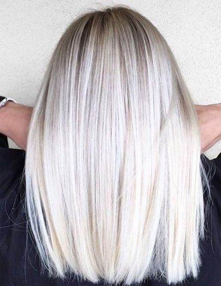 Platinum Blonde Hair Colors Trends Spring Summer 2018