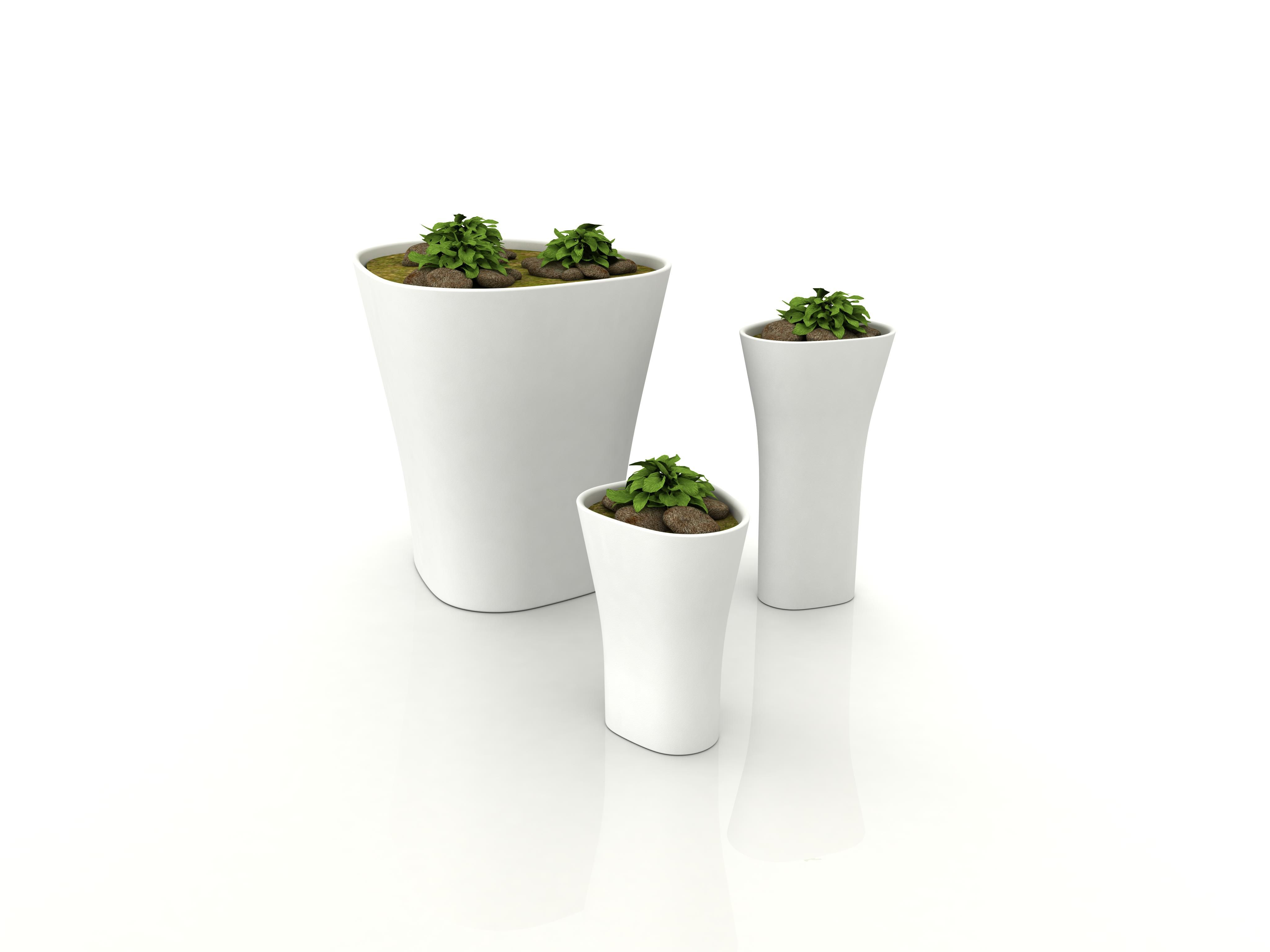 Tall Outdoor Planters Contemporary With Unique Shape For Tall White Outdoor  Planters Design