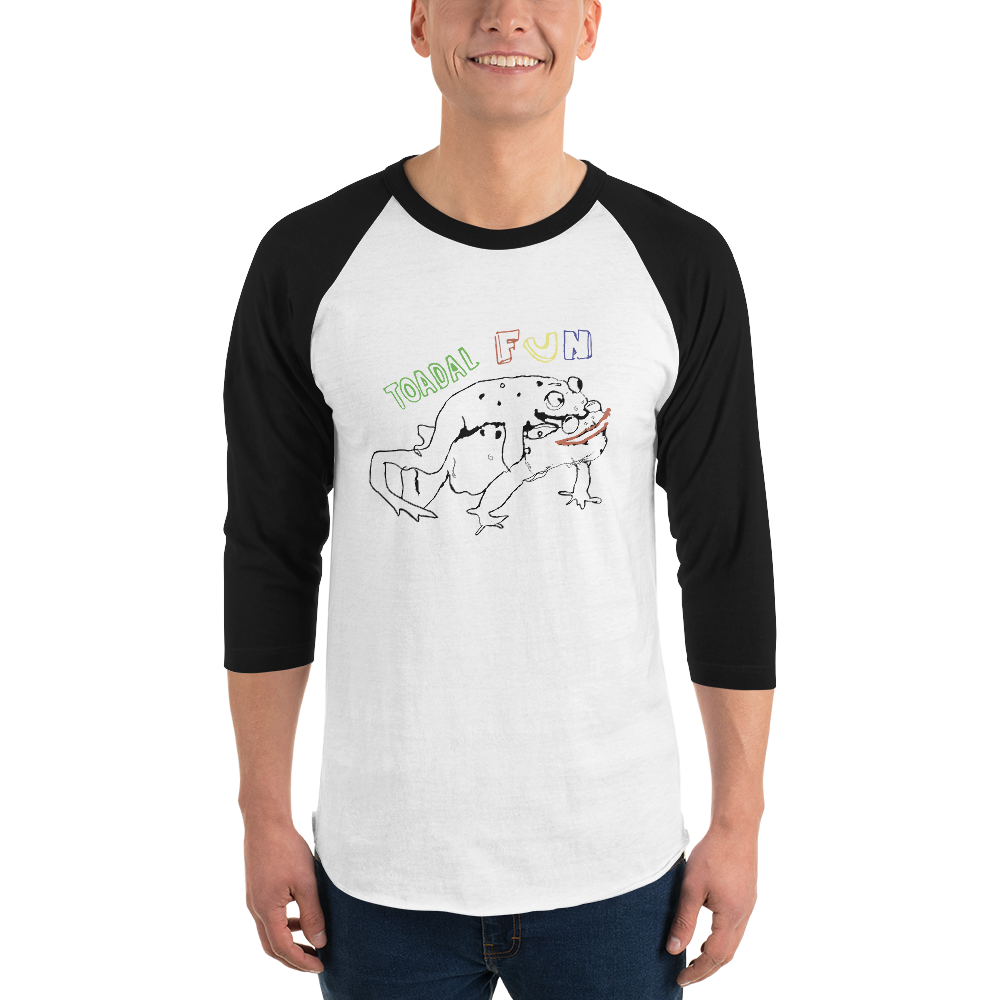 frog 3/4 sleeve raglan shirtSize guide    XS S M L XL 2XL   Width (inches) 15 ½ 17 ½ 19 ½ 21 ½ 23 ½ 25 ½   Length (inches) 28 29 30 31 32 33