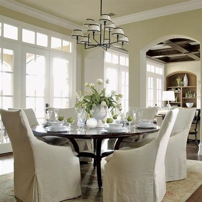 Round table - light fixture