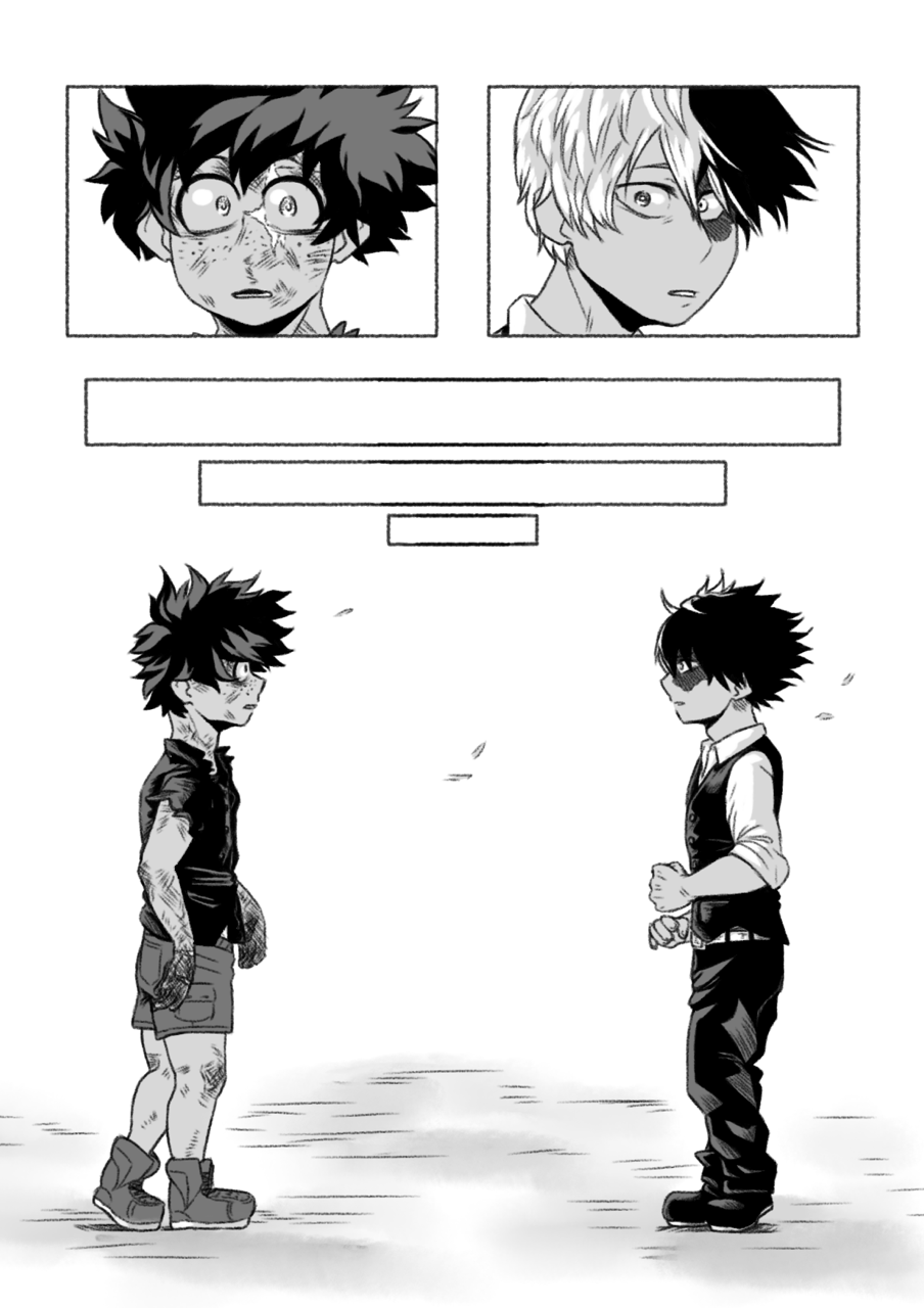 Fan Art For Yesterday Upon The Stair A Mha Fanfic Art By Cricketmilk On