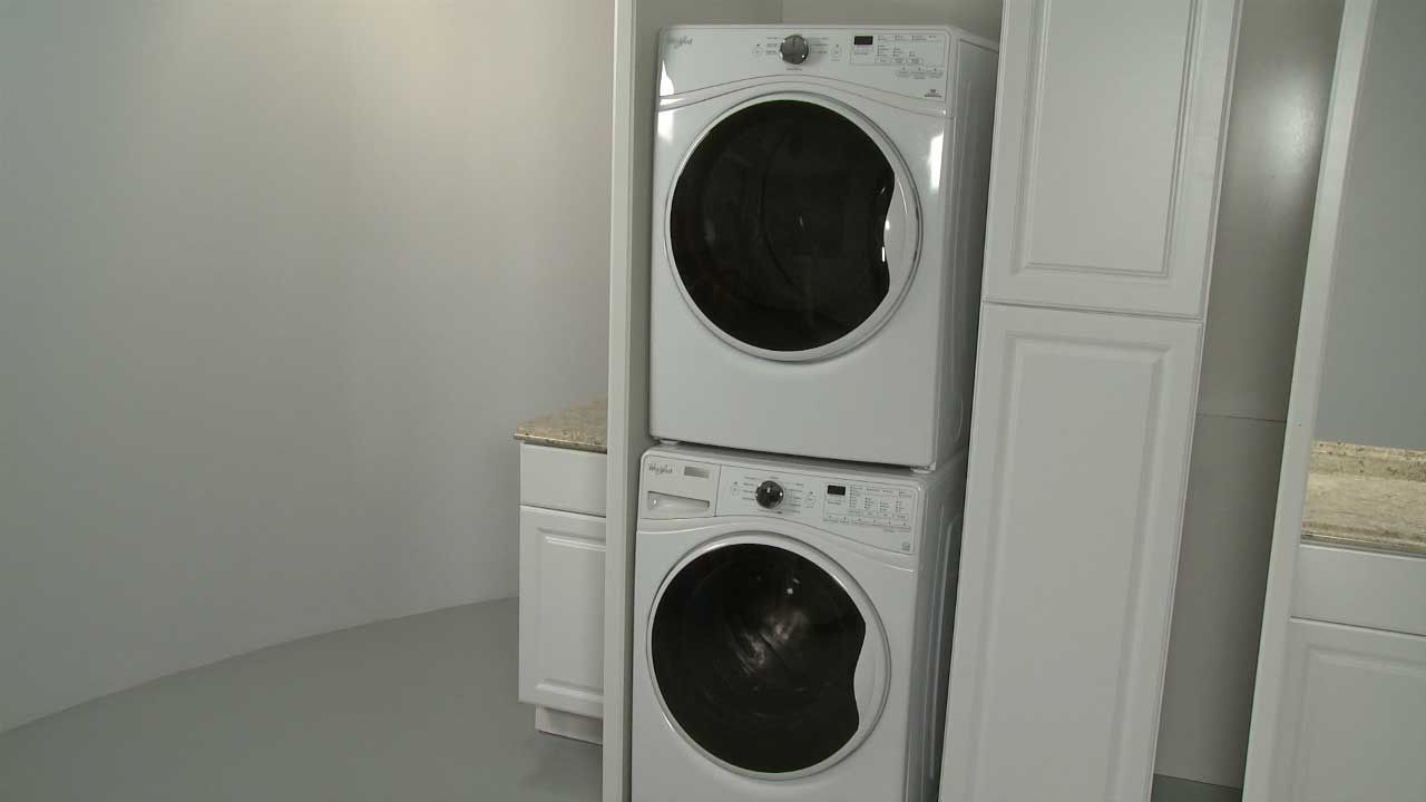 Washer Dryer Stacking Kit Installation W10869845 Stackable Washer And Dryer Laundry Dryer Washer