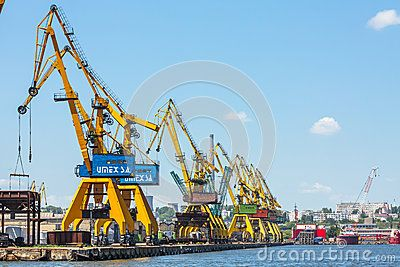 Heavy Load Dockside Cranes - Download From Over 24 Million High Quality Stock Photos, Images, Vectors. Sign up for FREE today. Image: 41328134