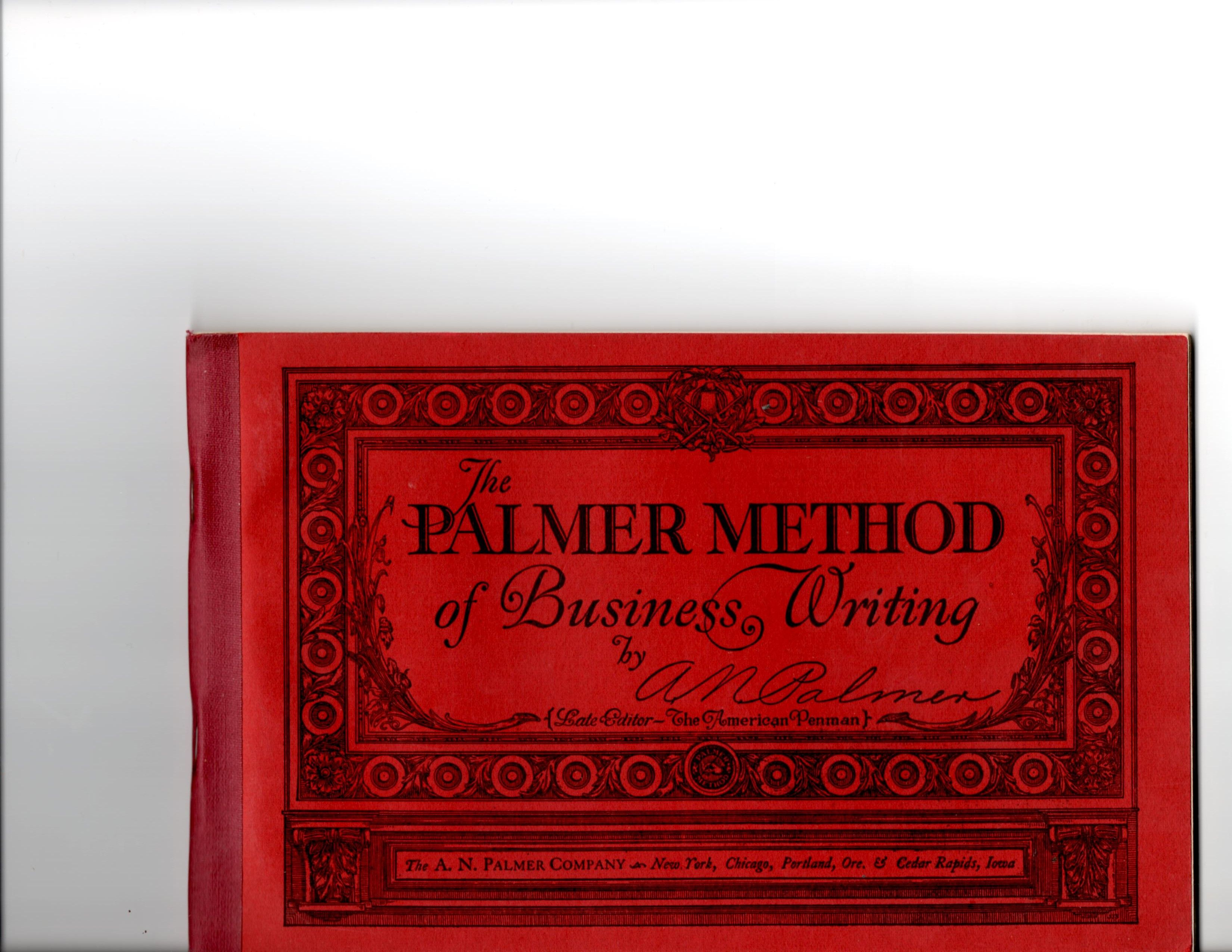 Palmer Method Of Writing Book Judith Walker S Collection