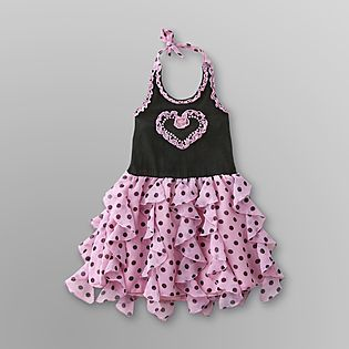 -Infant & Toddler Girls Dress - Polka Dots