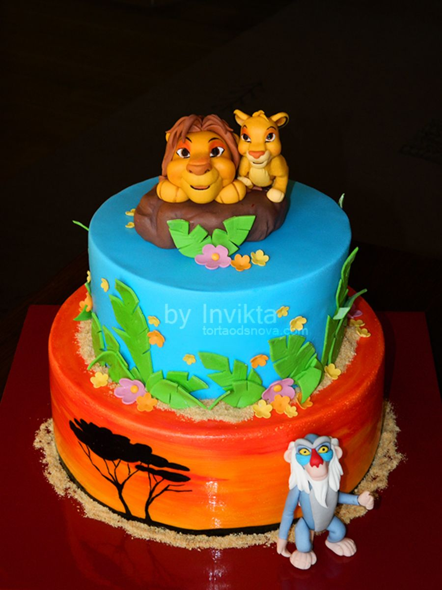 Lion King cake ? Pinteres?