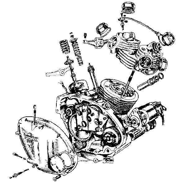 harley davidson engine schematic