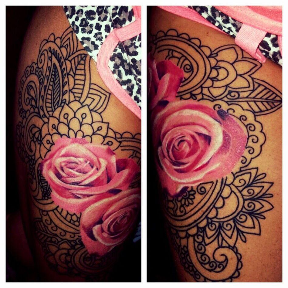 Awesome customer pic of a tattoo by akirasakura tattoo